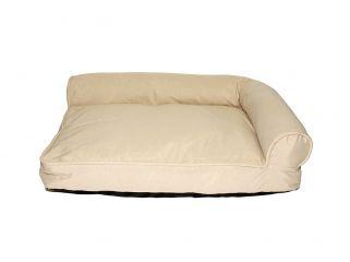 divanetto toby sfoderabile per animali sogni e capricci pets beige
