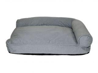 divanetto toby sfoderabile per animali sogni e capricci pets grigio